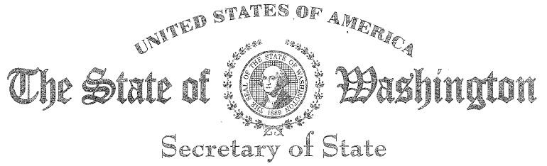Washington State Secretary of State Logo